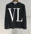 現地価格お得な春夏新作 人気モデルの2019夏季新作 ヴァレンティノ VALENTINO 長袖Tシャツ 2色可選