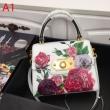多くの著名人も愛用するブランド新作 ドルガバ コピーDolce&Gabbanaスーパーコピーショルダーバッグ 花柄モチーフ 絶対欲しい手に入る