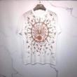 ジバンシィサンダイヤルプリントマスキュリンフィット Tシャツ 今季話題の一級品 GIVENCHY半袖tシャツコピー 柔らかい光沢感で高級感 使い勝手抜群